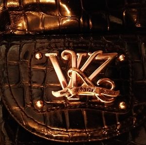 Bags - Black Van Kathy Leeland vinyl Purse